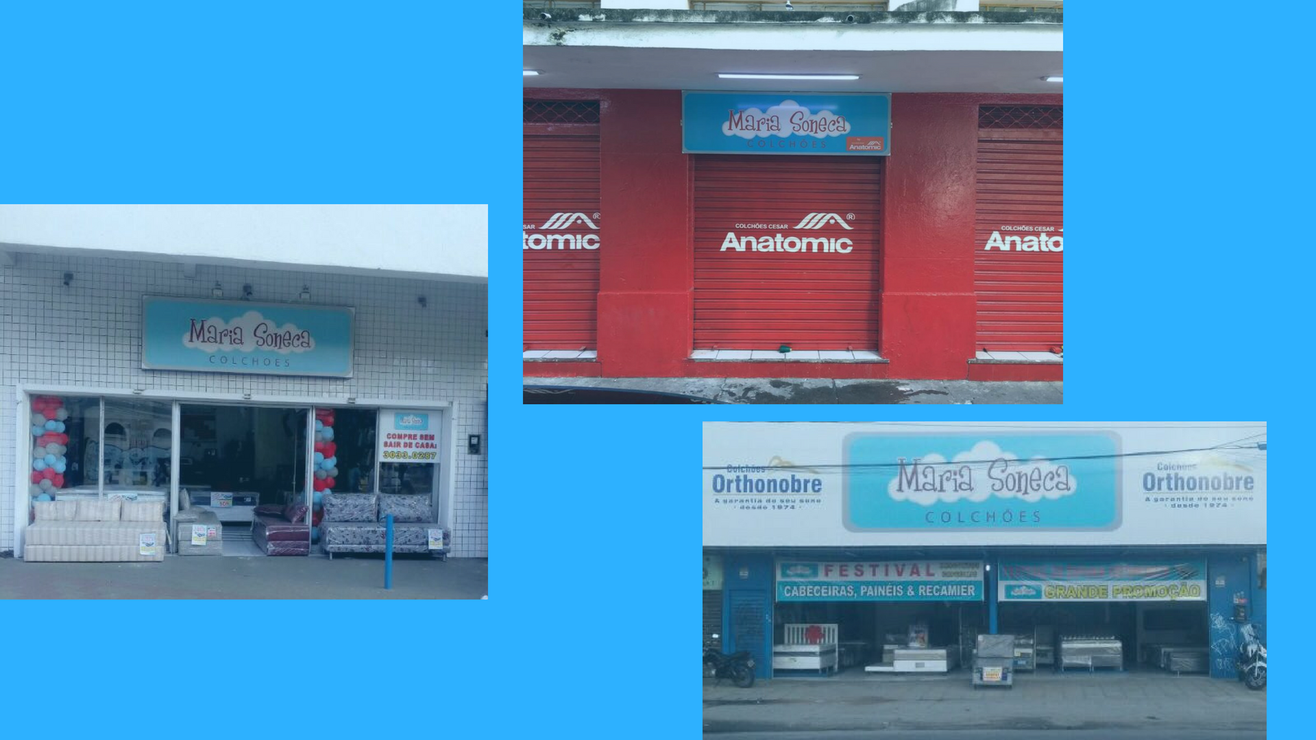 Conheça o Endereço de Nossas Lojas   Maria Soneca Colchões e21d482303